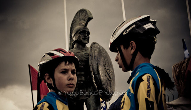 Leonidas and the bikers